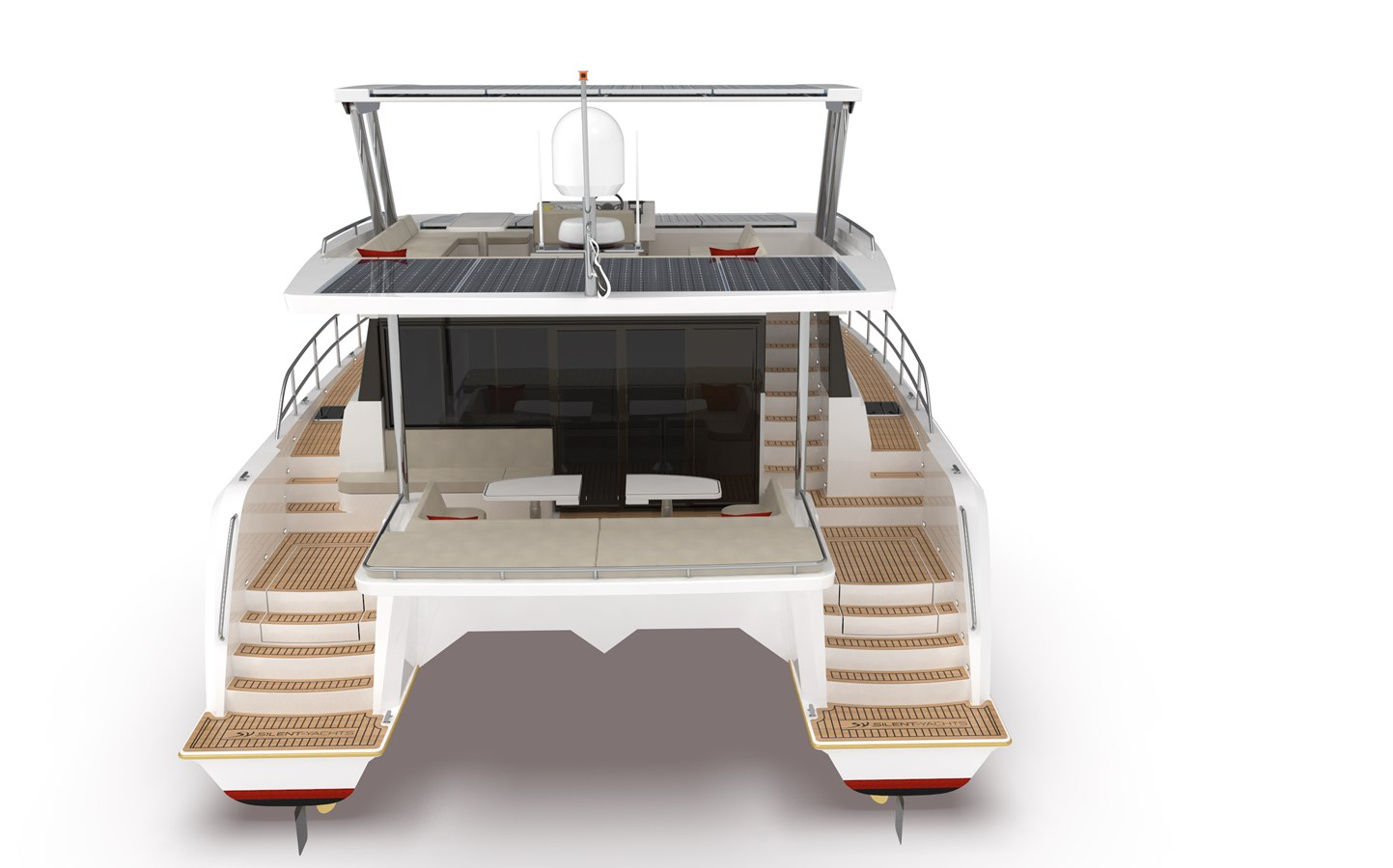 Electric Yachts Silent Yachts 44 Aft Perspective 2020 SILENT YACHTS SILENT 44 Catamaran 2771195