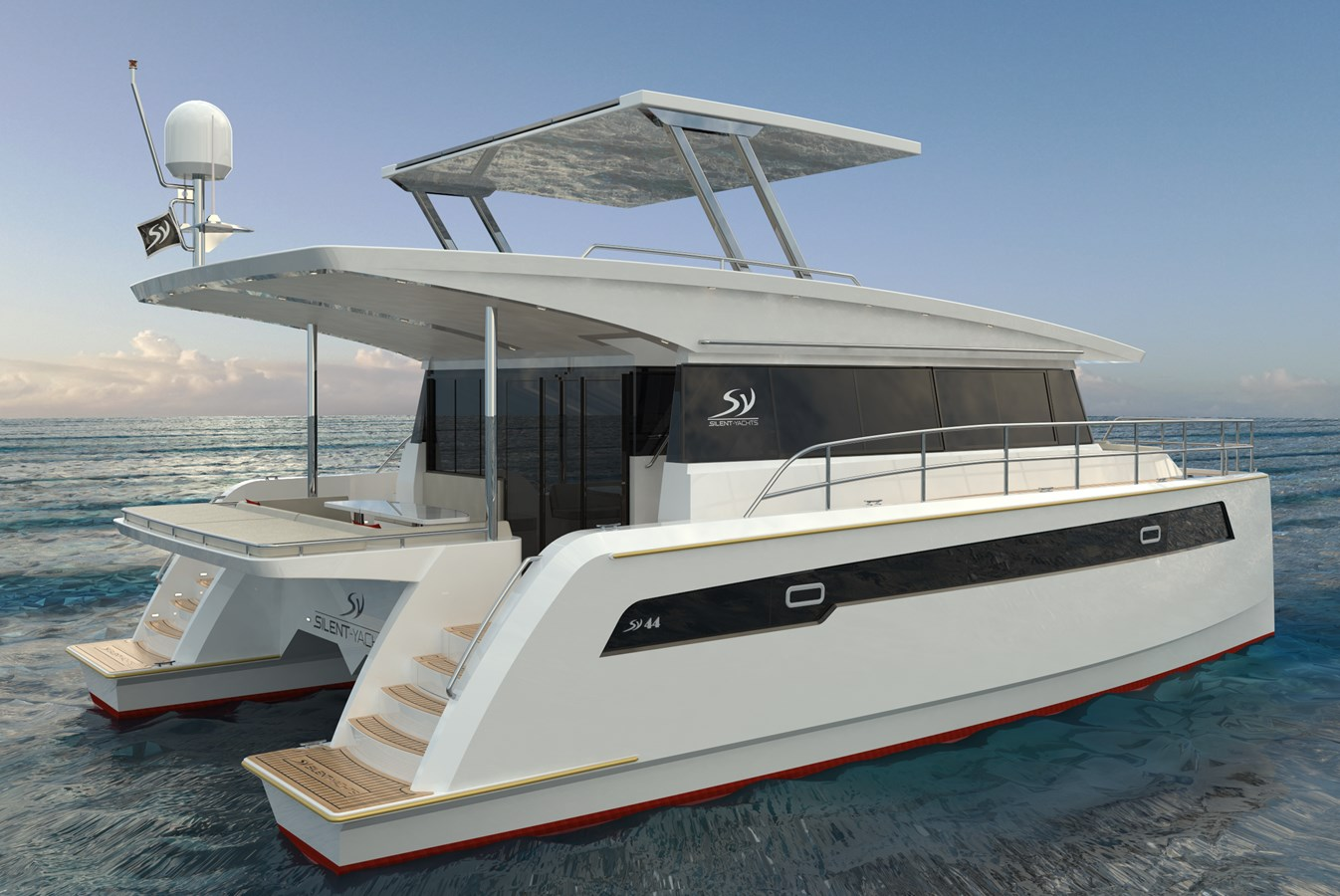 Electric Yachts Silent Yachts 44 STB Aft 2020 SILENT YACHTS SILENT 44 Catamaran 2771197