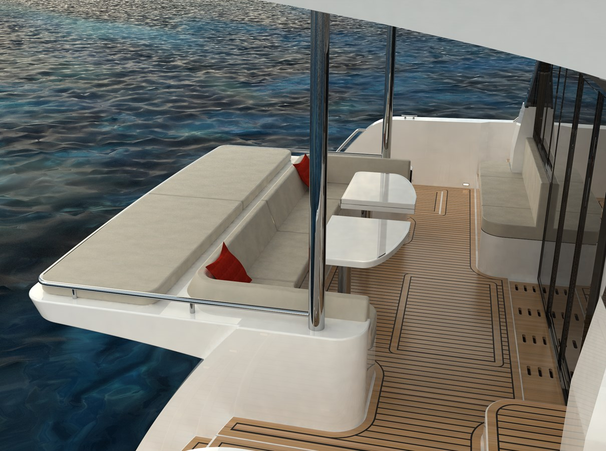 Electric Yachts Silent Yachts 44 Aft Seat -2 2020 SILENT YACHTS SILENT 44 Catamaran 2771198