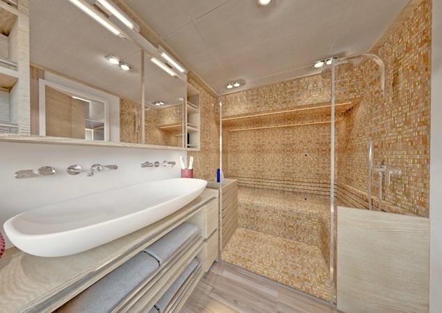 SILENT-YACHTS_SILENT80_C_Mastercabin_Bathroom+Steam-Sauna_1 2020 SILENT YACHTS  Catamaran 2748268