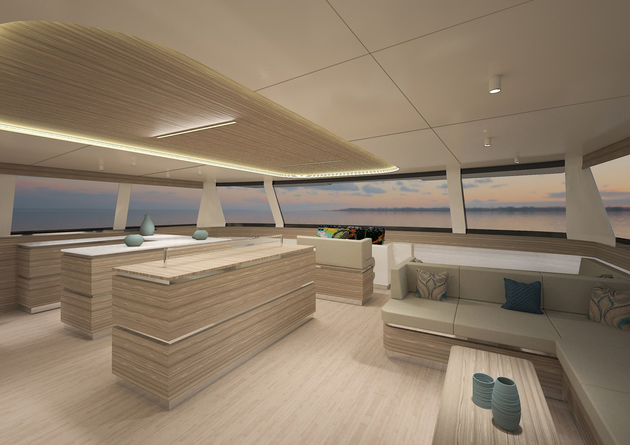 Silent 80 3 deck closed version (4) 2020 SILENT YACHTS  Catamaran 2749269