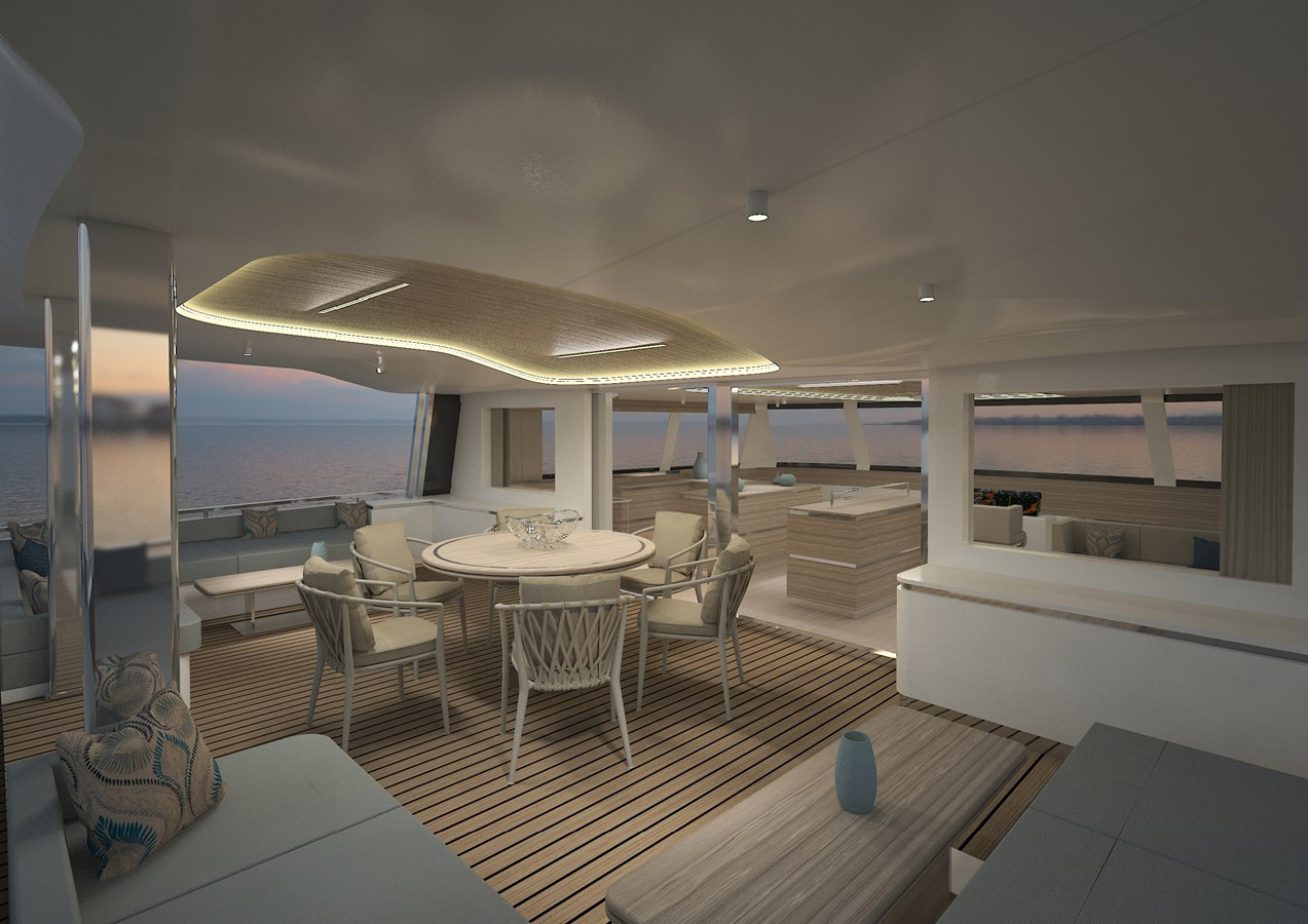 Silent 80 3 deck closed version (6) 2020 SILENT YACHTS  Catamaran 2749272