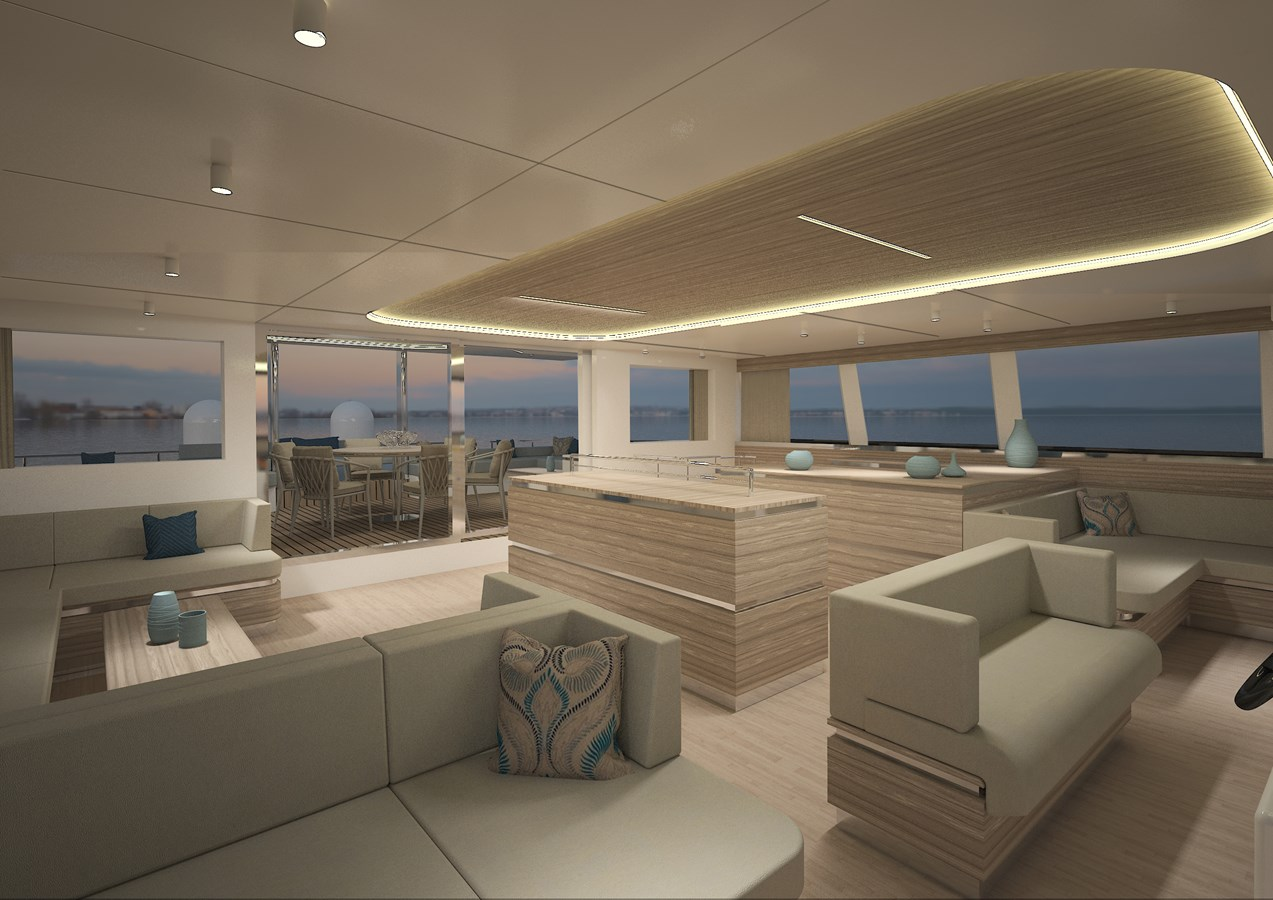 Silent 80 3 deck closed version (5) 2020 SILENT YACHTS  Catamaran 2749273