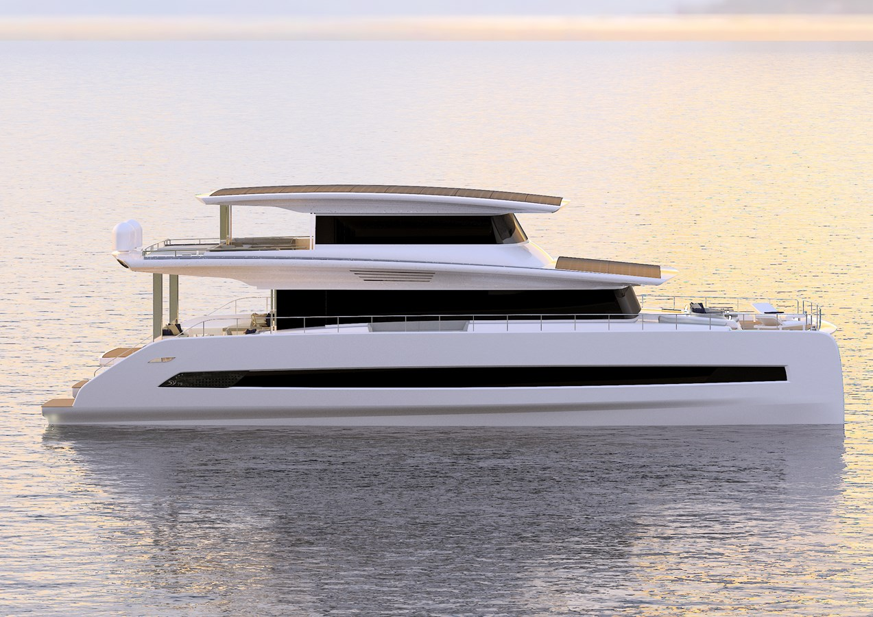 Silent 80 3 deck closed version (3) 2020 SILENT YACHTS  Catamaran 2749275
