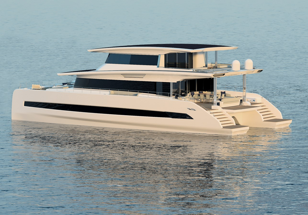 Silent 80 3 deck closed version (1) 2020 SILENT YACHTS  Catamaran 2749276