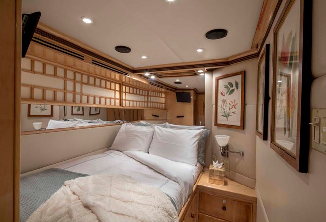 Port Guest Cabin 1990 TRINITY Raised Pilothouse (1990/2015) Motor Yacht 2750187
