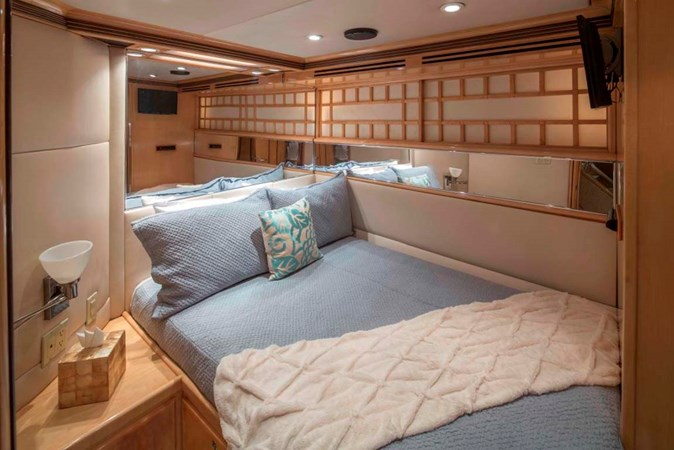 Starboard Guest Cabin 1990 TRINITY Raised Pilothouse (1990/2015) Motor Yacht 2750191
