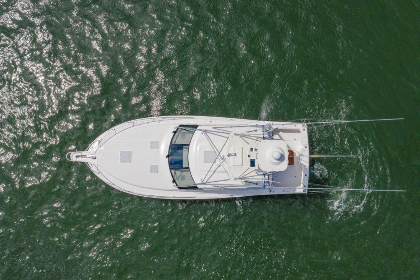 aerial 2012 CABO  Sport Fisherman 2895559