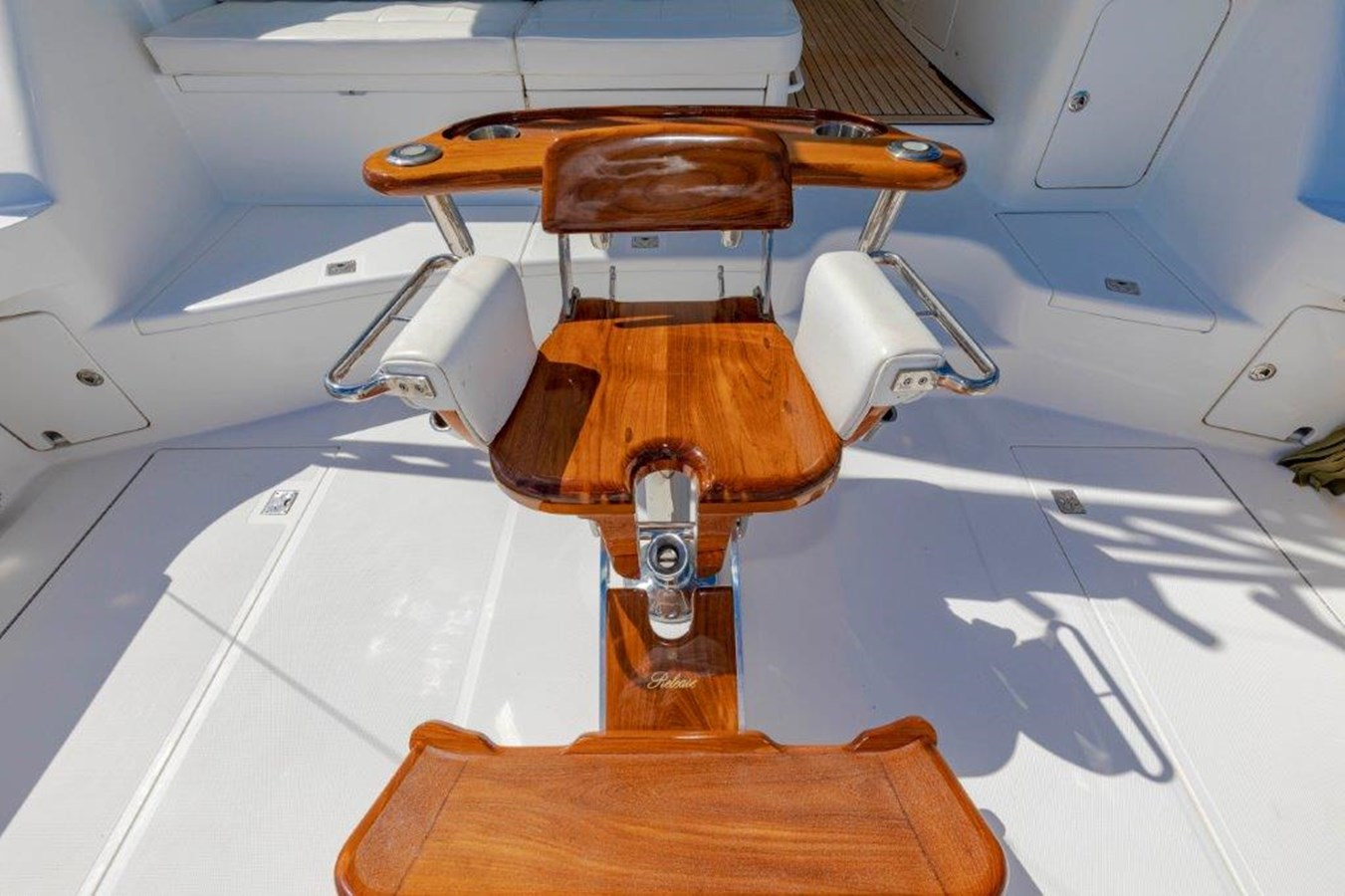 cockpit fighting chair 2012 CABO  Sport Fisherman 2895565