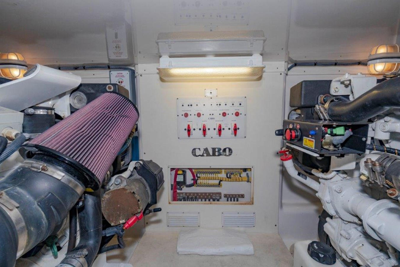 engine room 2 2012 CABO  Sport Fisherman 2895571