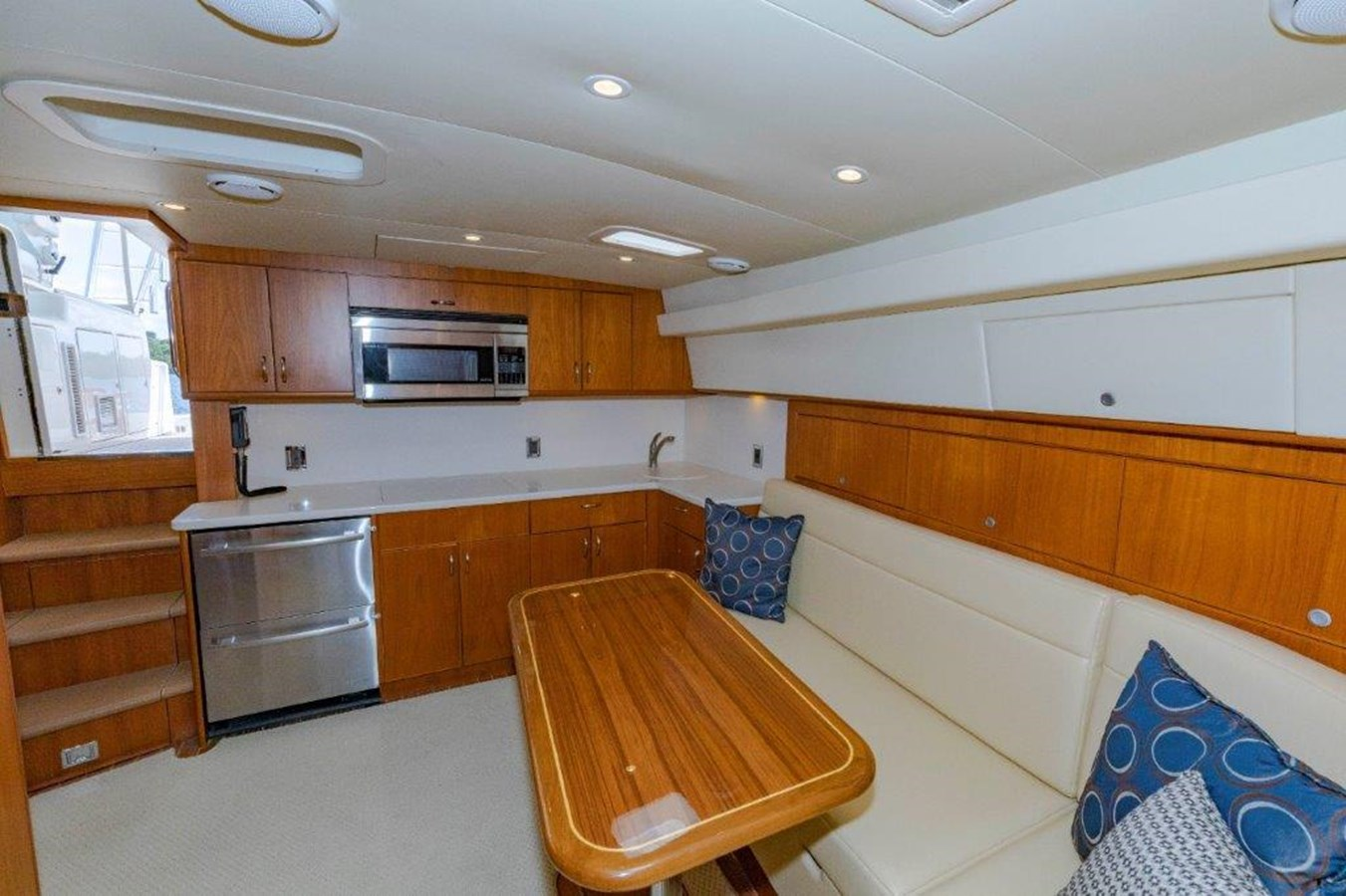 salon and galley 2 2012 CABO  Sport Fisherman 2895590