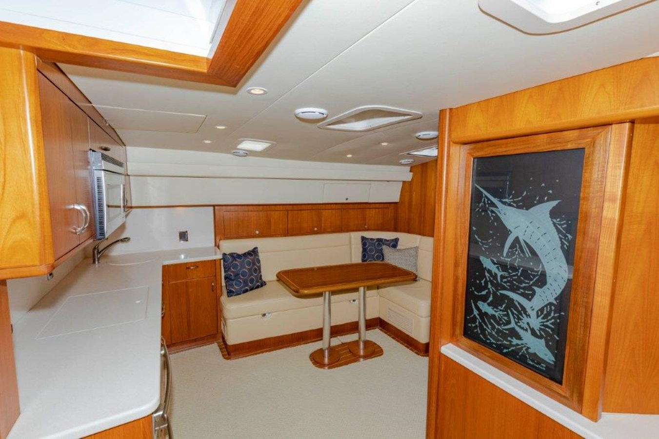 salon and galley 2012 CABO  Sport Fisherman 2895591