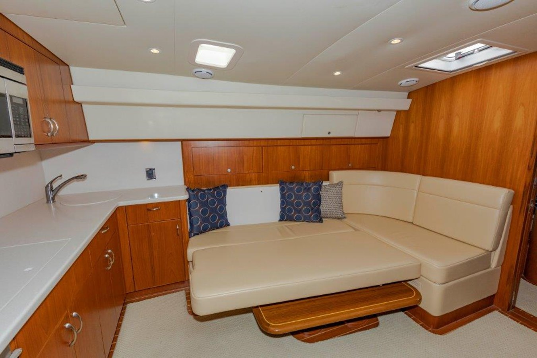 salon dinette converted 2012 CABO  Sport Fisherman 2895594