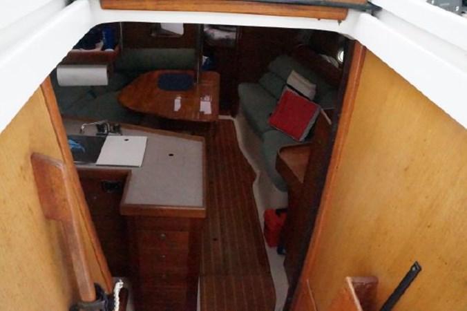 58 1998 HUNTER 340 Cruising/Racing Sailboat 2751081