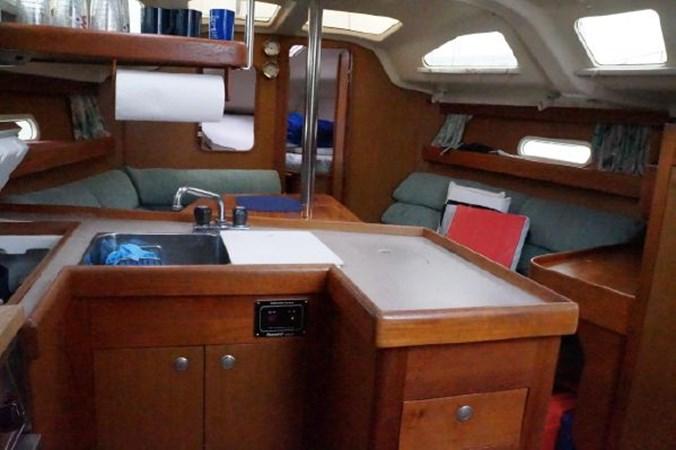 85 1998 HUNTER 340 Cruising/Racing Sailboat 2751095