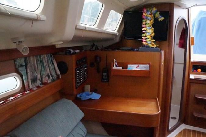 70 1998 HUNTER 340 Cruising/Racing Sailboat 2751097