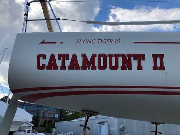 32 2007 CUSTOM Flying Tiger 10M Racing Sailboat 2751263