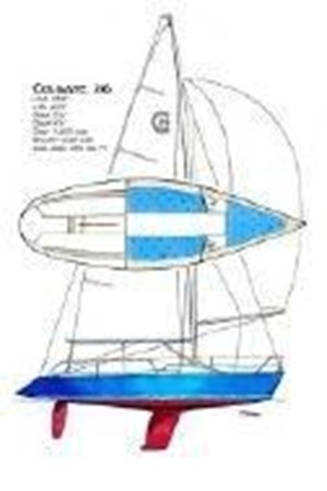 25 2000 CUSTOM Colgate 26 Cruising Sailboat 2751394