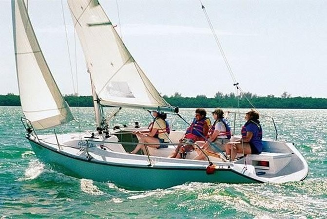 2 2000 CUSTOM Colgate 26 Cruising Sailboat 2751411