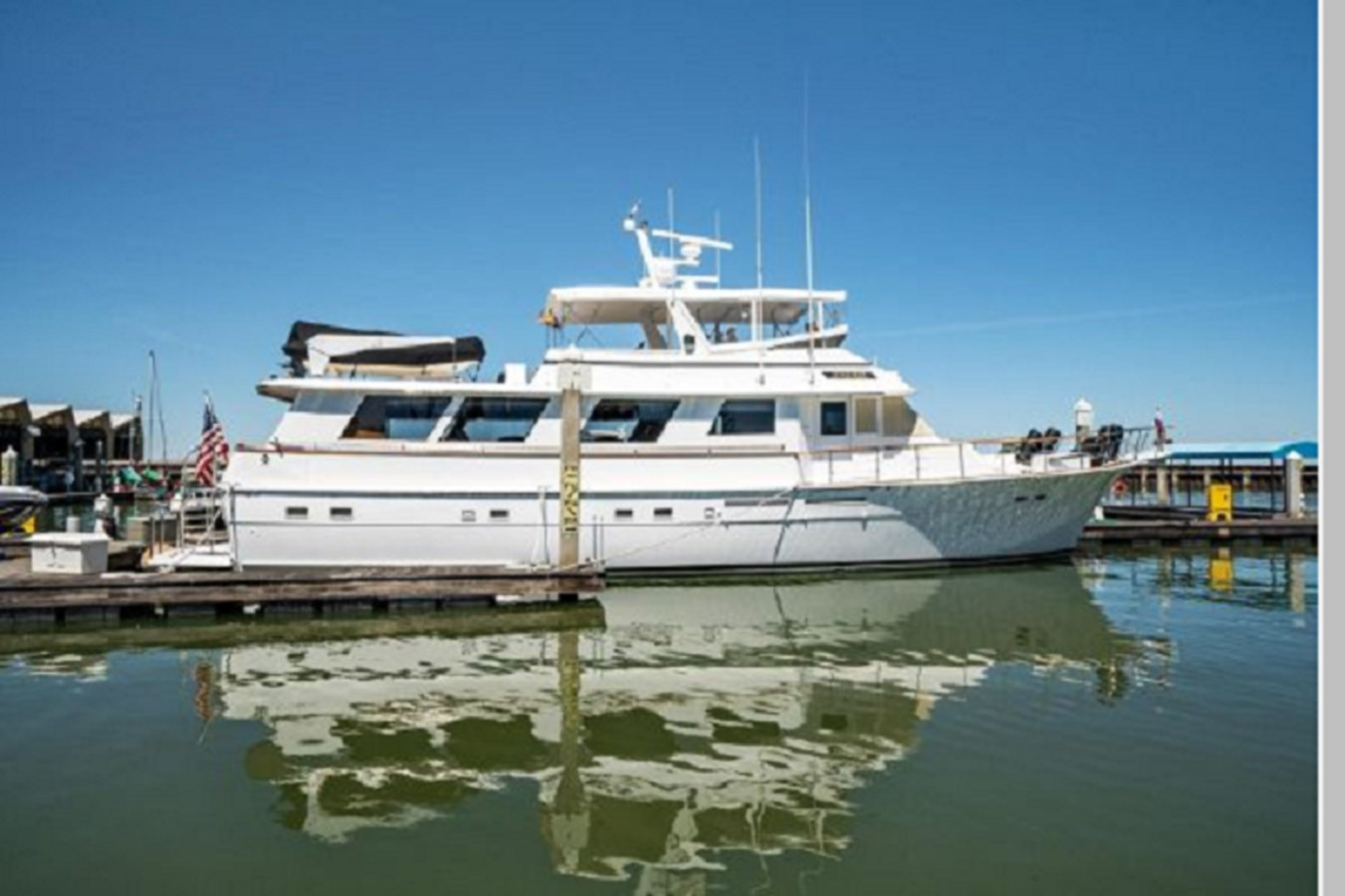 1 1985 HATTERAS Widebody Pilothouse Motor Yacht 2961528