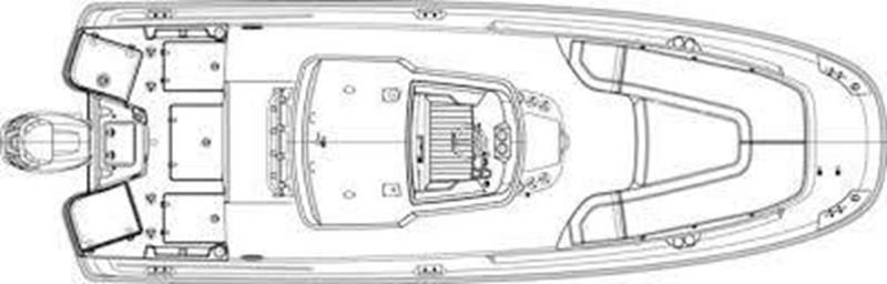 Layout 2014 BOSTON WHALER 240 Dauntless Sport Fisherman 2752933
