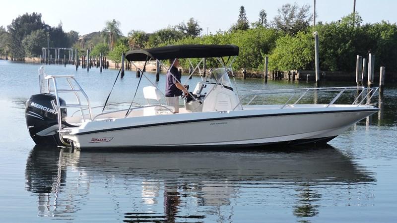 Boss Main Profile 2014 BOSTON WHALER 240 Dauntless Sport Fisherman 2815658