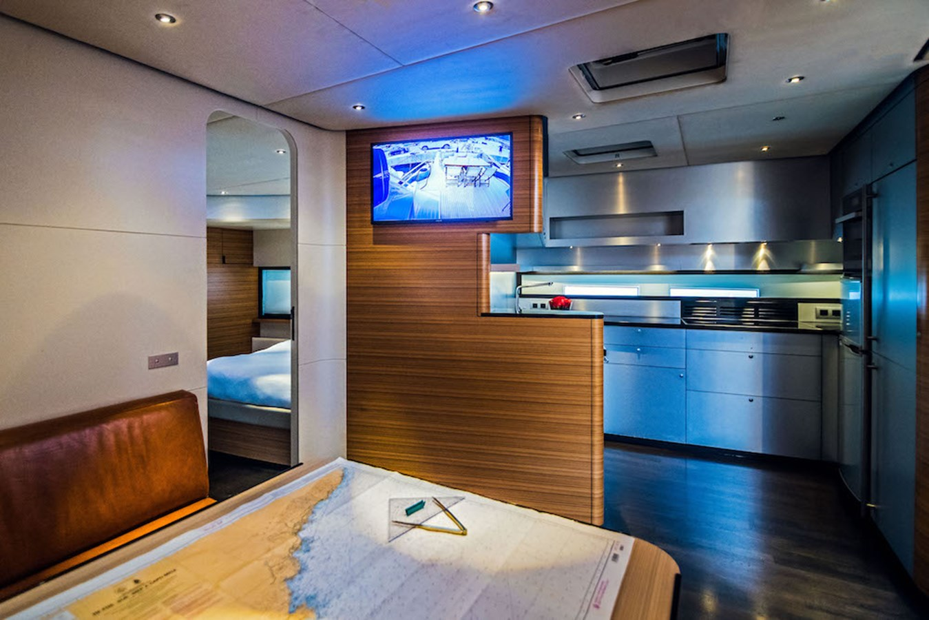 Galley view from table 2011 ACICO YACHTS  Cruiser 2754260