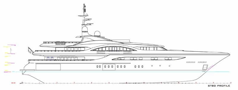 STBD PROFILE 2012 TURQUOISE YACHTS  Mega Yacht 2756048