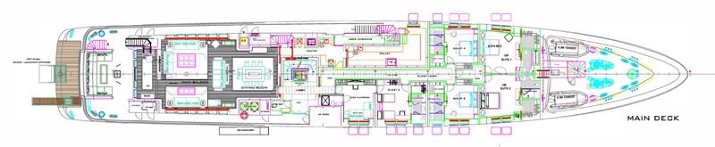 MAIN DECK 2012 TURQUOISE YACHTS  Mega Yacht 2756052