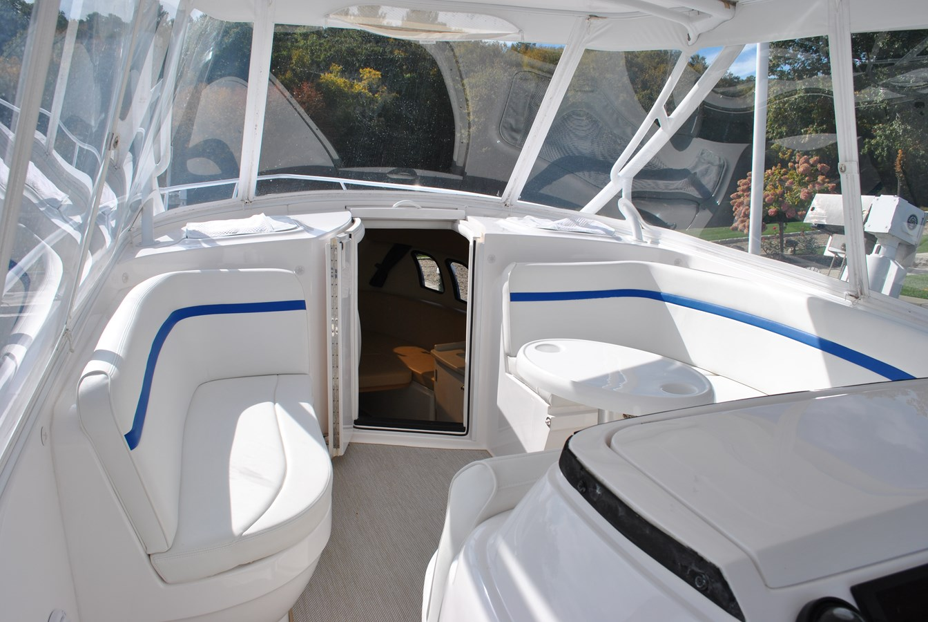 9 Forward Cockpit Seating 2015 INTREPID  Motor Yacht 2757393