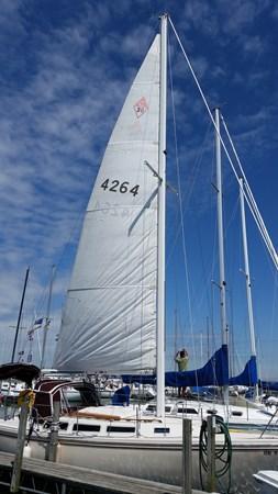 1983 CATALINA 30 Tall Rig Cruising/Racing Sailboat 2757227
