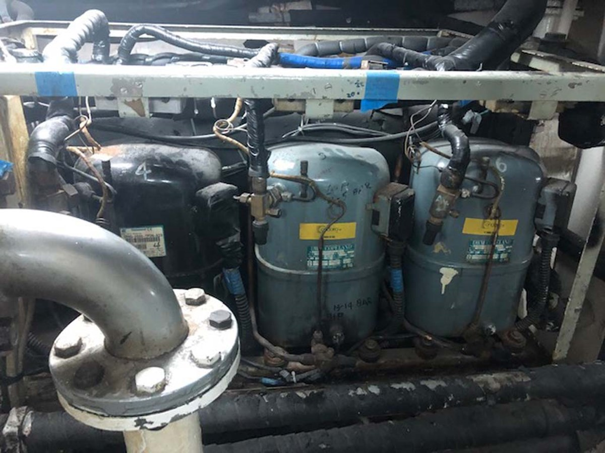 26 Air Conditioning 1992 CUSTOM Marine Industrial Technologies 140 Commercial Vessel 2760684