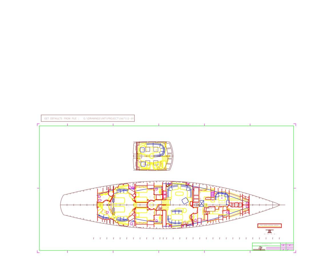 Interior Plan[1] 1997 ROYAL HUISMAN  Cruising Ketch 2805149