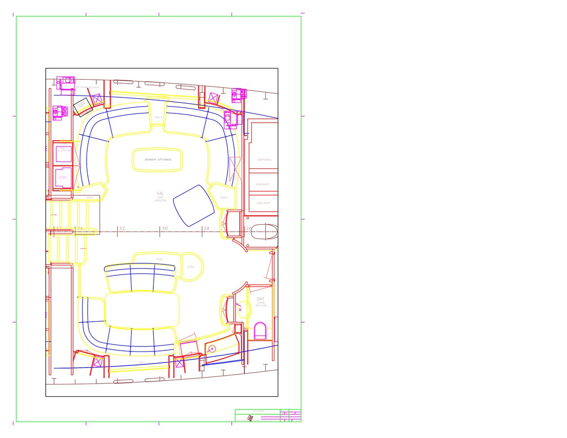 Interior Plan[2] 1997 ROYAL HUISMAN  Cruising Ketch 2805151