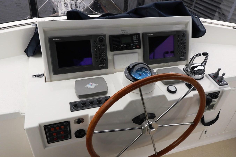 Flybridge Helm Controls 2008 GRAND BANKS Europa Trawler 2768799