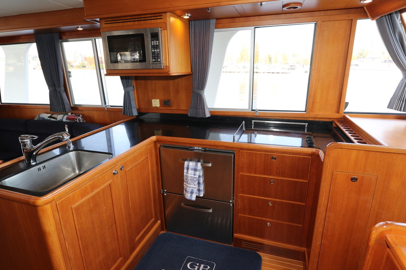 Galley Looking Aft 2008 GRAND BANKS Europa Trawler 2768900