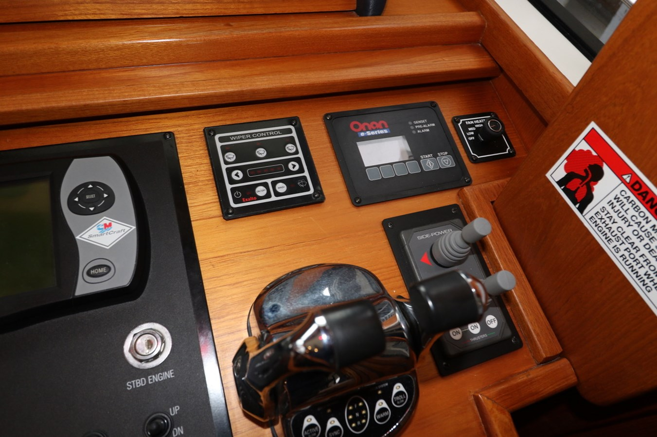 Engine and Thruster Controls 2008 GRAND BANKS Europa Trawler 2768909