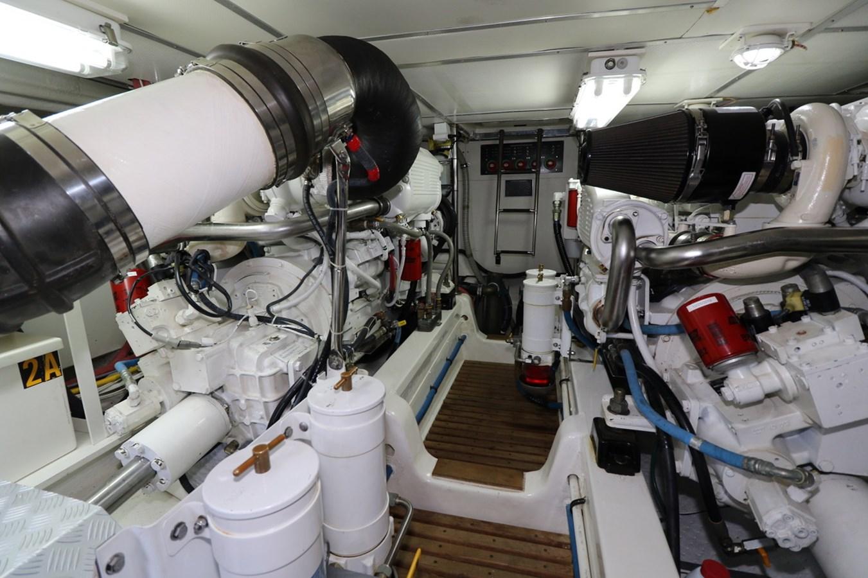 Engine Room Looking Forward 2008 GRAND BANKS Europa Trawler 2768934