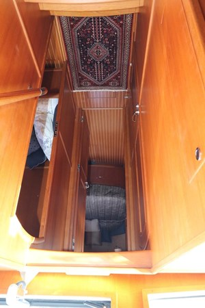 Companionway Looking Forward 2008 GRAND BANKS Europa Trawler 2768916