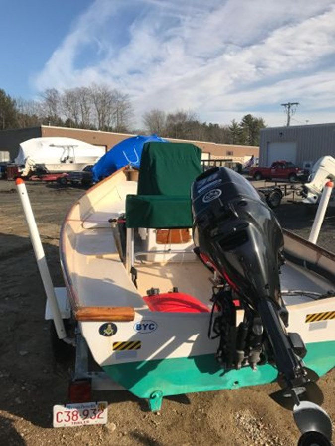 9 1991 YANKEE Dory Runabout 2771434