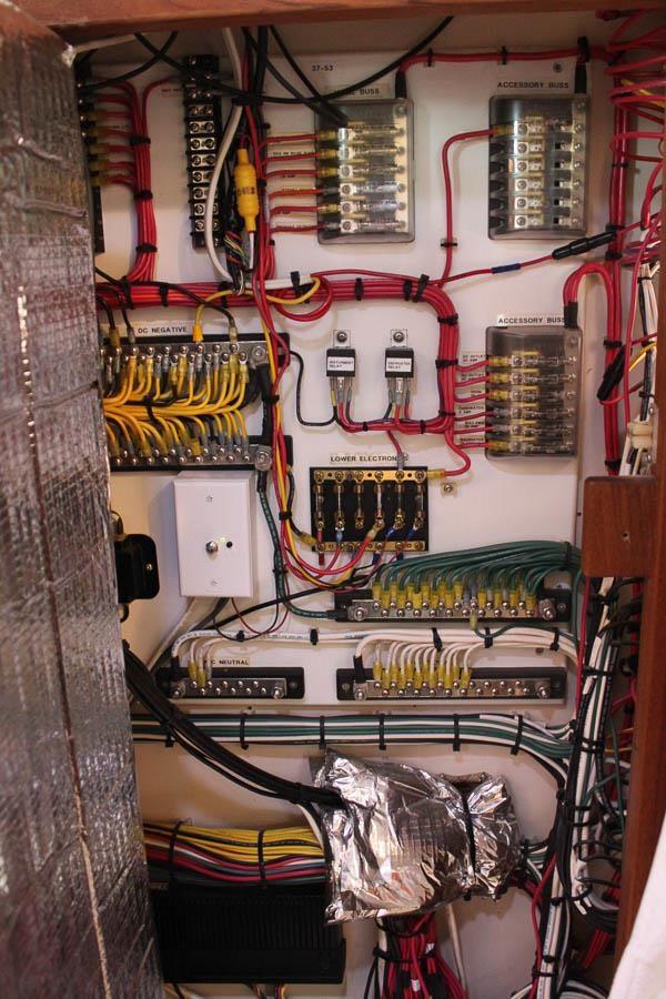 "Army Tug Engine Room: Gyp Sea 2001 NORDIC TUGS ""37"" Pilothouse Trawler MLS"
