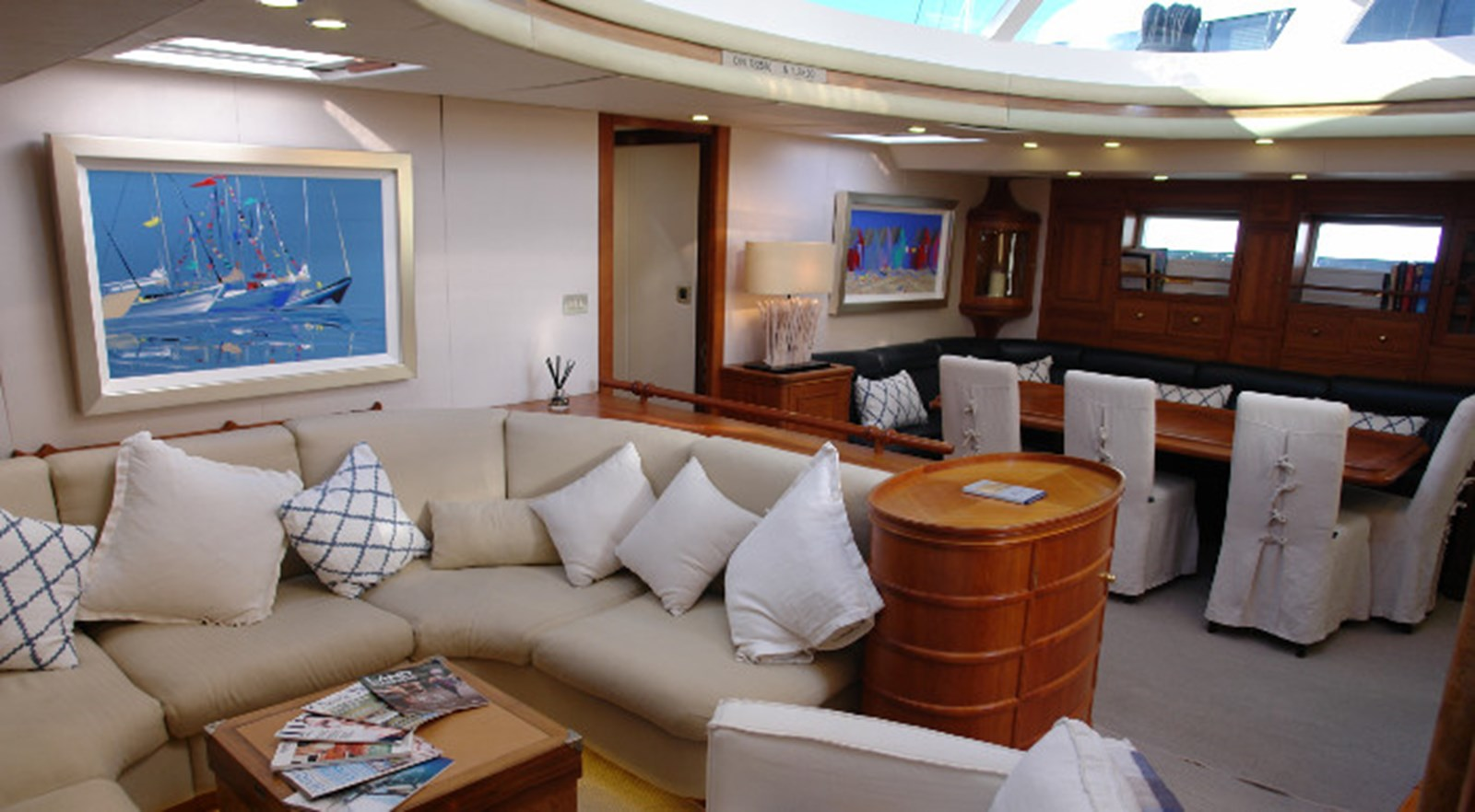LUNAR MIST Bill Trip Design Sailing Yacht 005 1992 WINDSHIP YACHTS Custom Cutter Rigged Sloop Cruising Sailboat 2778473