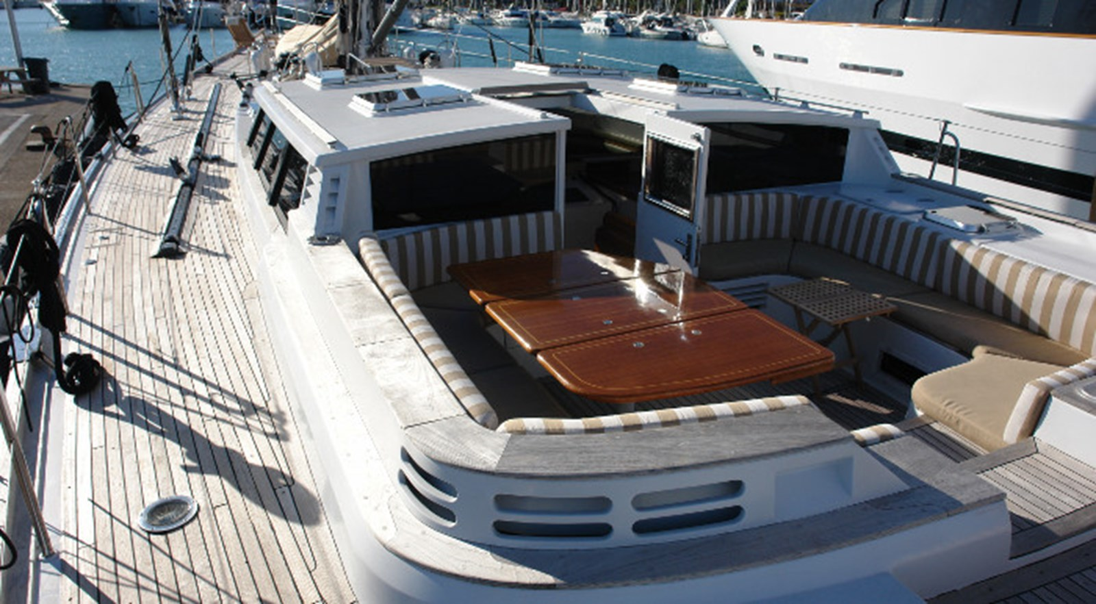 LUNAR MIST Bill Trip Design Sailing Yacht 003 1992 WINDSHIP YACHTS Custom Cutter Rigged Sloop Cruising Sailboat 2778476