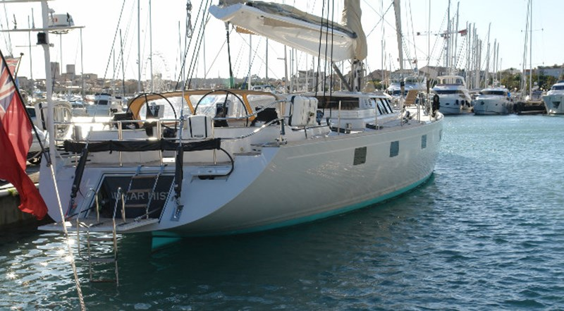 LUNAR MIST Bill Trip Design Sailing Yacht 002 1992 WINDSHIP YACHTS Custom Cutter Rigged Sloop Cruising Sailboat 2778472