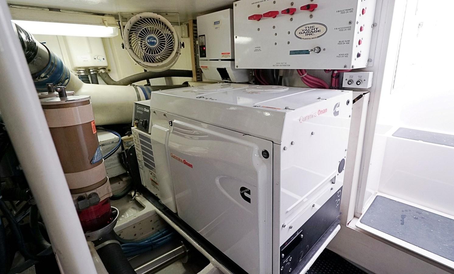 Engine Room Generator 1999 VIKING  Sport Fisherman 2887311