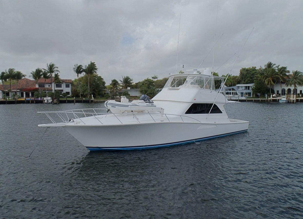 Profile Port Bow  1999 VIKING  Sport Fisherman 2887331