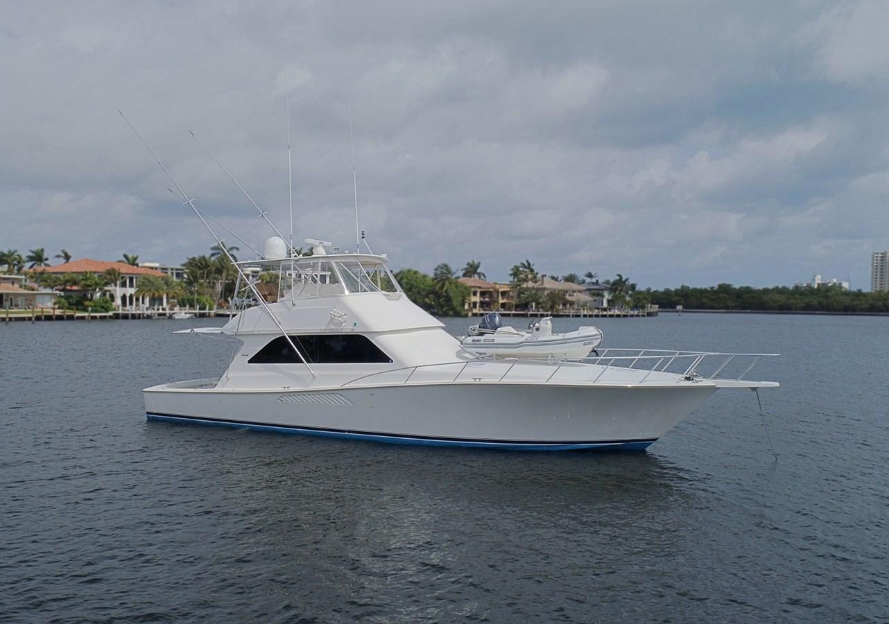 Profile Starboard Bow 1999 VIKING  Sport Fisherman 2887334