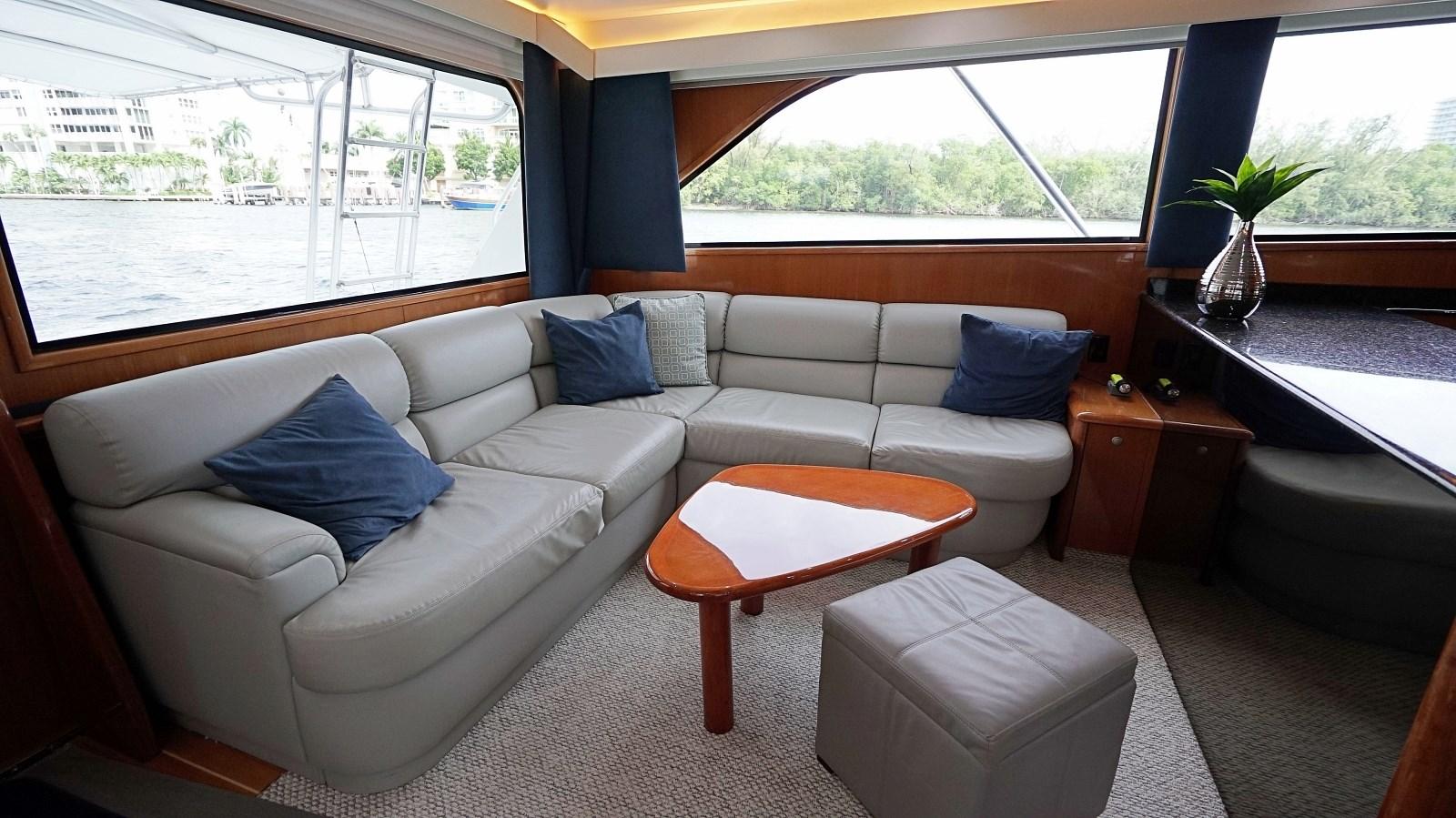 Salon Couch  1999 VIKING  Sport Fisherman 2887339