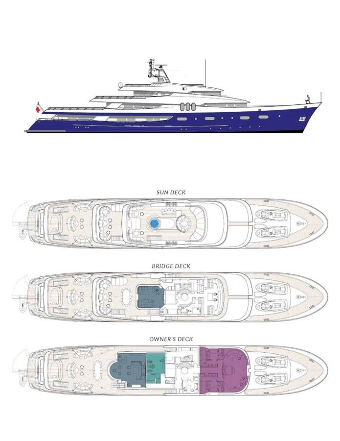FELIX Upper Decks 2007 JADEWERFT  Motor Yacht 2795073