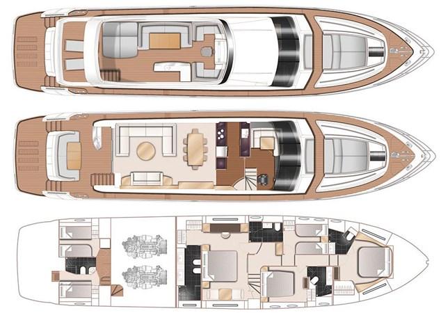 Rainbow-GA 2013 PRINCESS YACHTS Princess 82MY Motor Yacht 2790782
